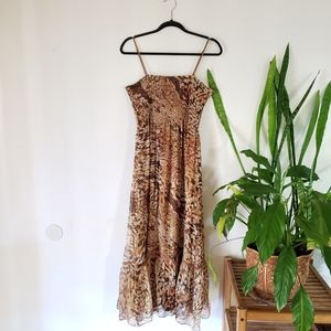 Peter Nygard animal print dress size 12